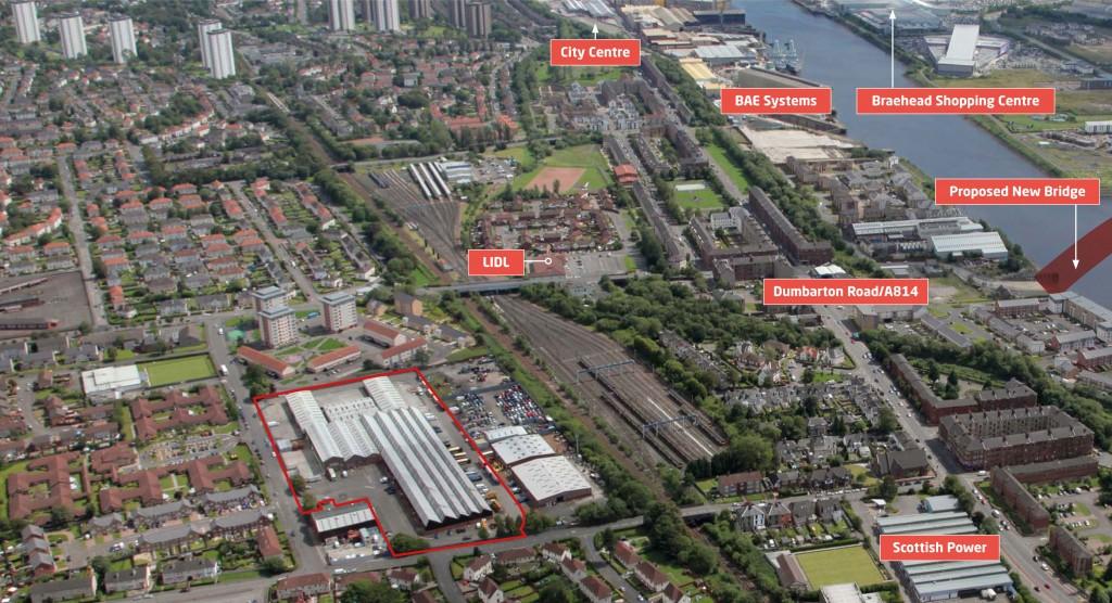 New Albion Estate Location